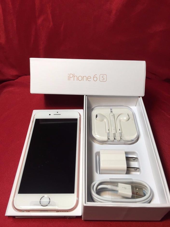 Apple iPhone 6S (Unlocked) [A1688] - Rose Gold, 64 GB
