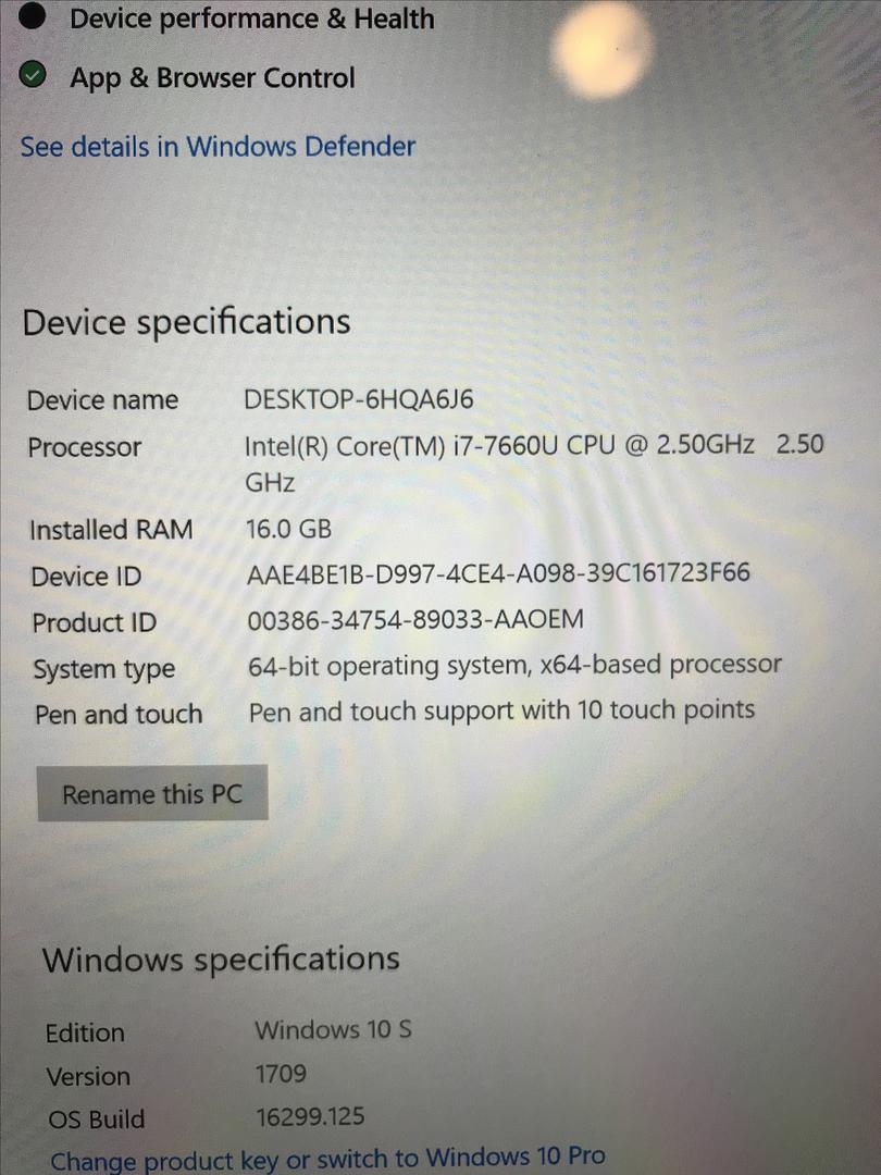 Microsoft Surface Laptop 2017 - Silver, 512 GB, 16 GB