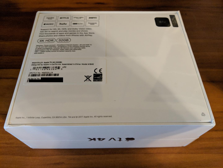 Apple TV 4k - 32 GB