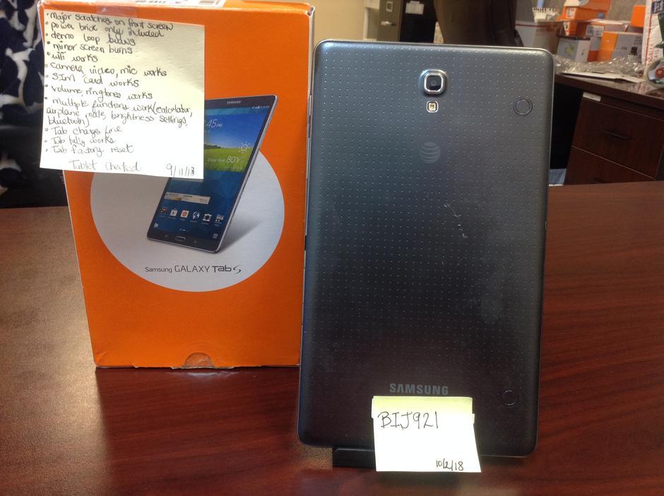 Samsung Galaxy Tab S 8 4 (AT&T) [SM-T707A] - Black, 16 GB