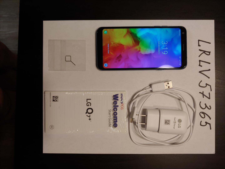 LG Q7 Plus (Metro PCS) - Blue