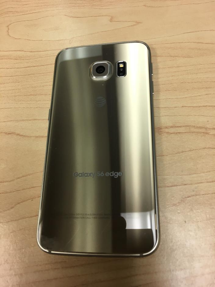 Samsung Galaxy S6 edge (AT&T) [SM-G925A] - Gold, 64 GB