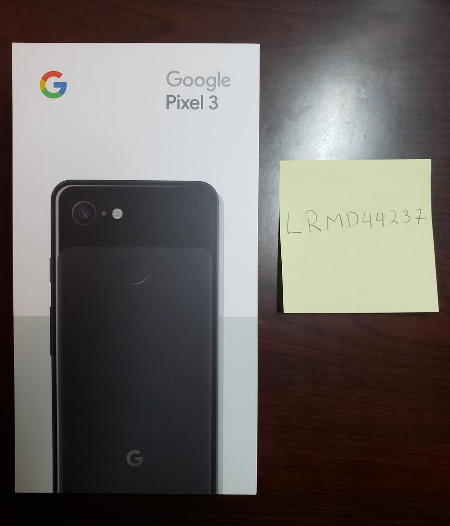 Google Pixel 3 (Unlocked), Google Edition - Black, 64 GB