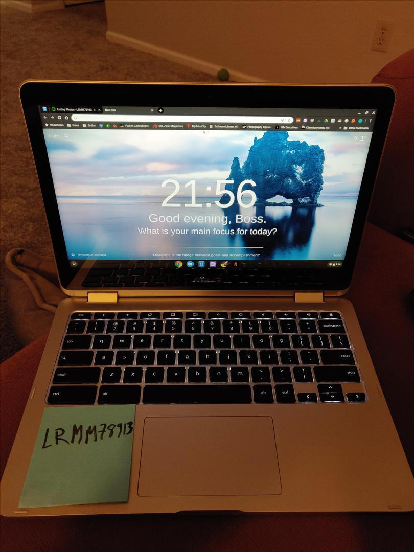 Asus Chromebook Flip C302 - Silver, 64 GB, 4 GB