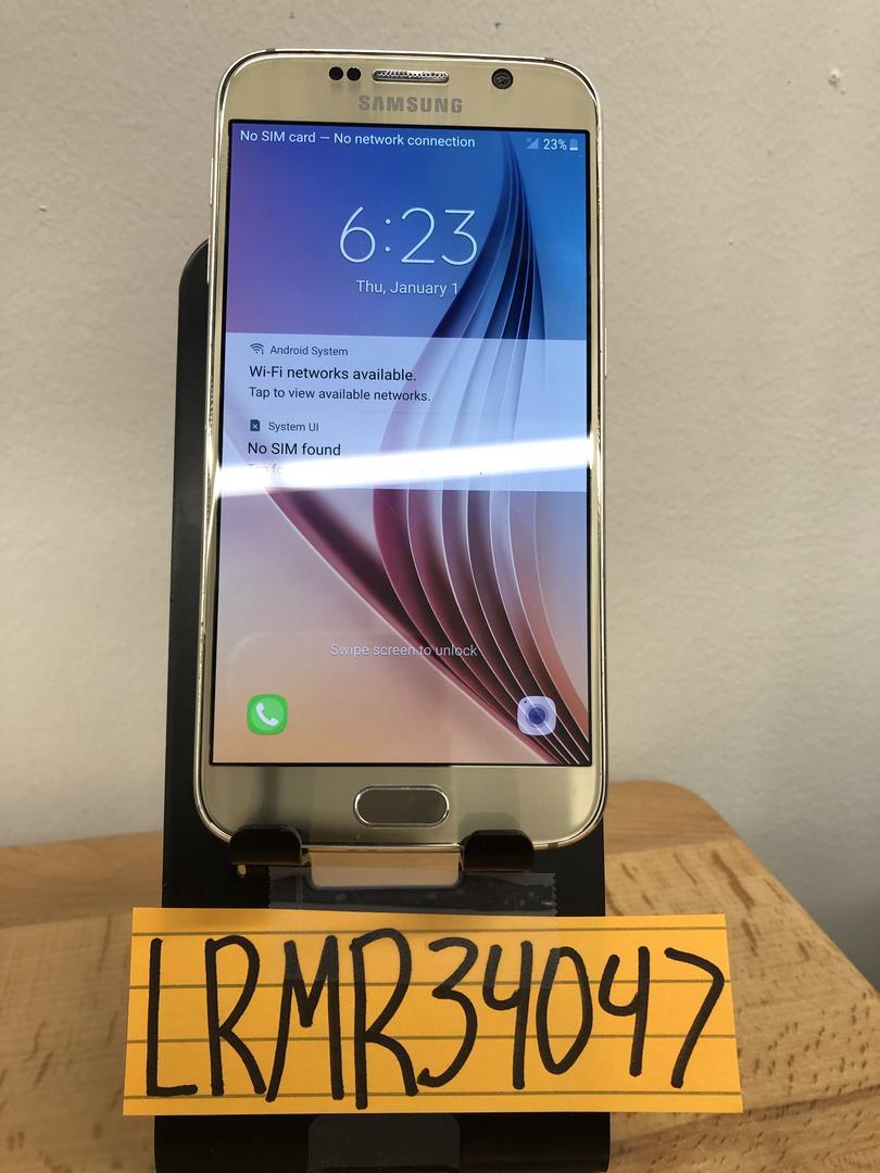 Samsung Galaxy S6 (Verizon) [SM-G920V] - Gold, 32 GB