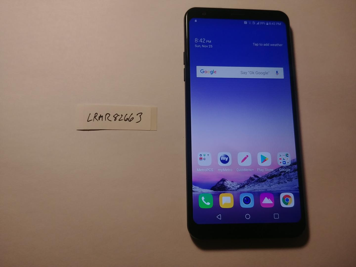 LG Stylo 4 (Metro PCS) [Q710MS] - Black, 32 GB, 2 GB