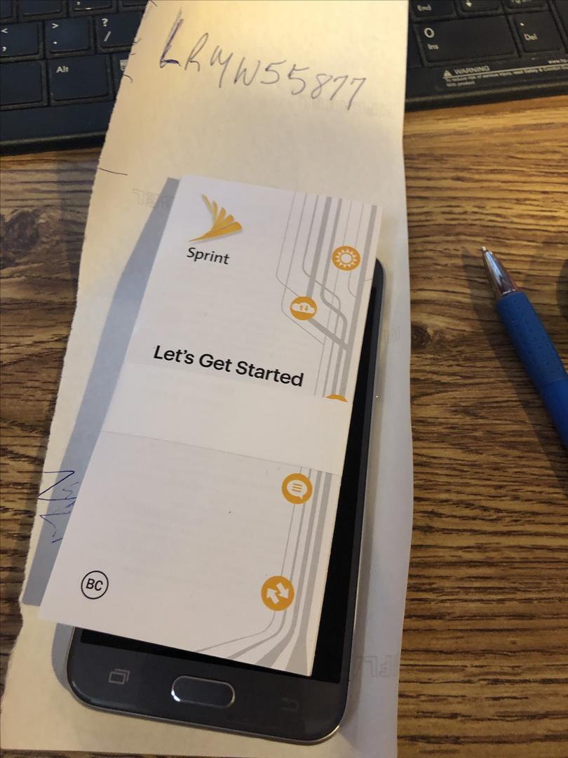 Samsung Galaxy J3 Emerge 2017 (Sprint) [SM-J327P] - Gray, 16 GB