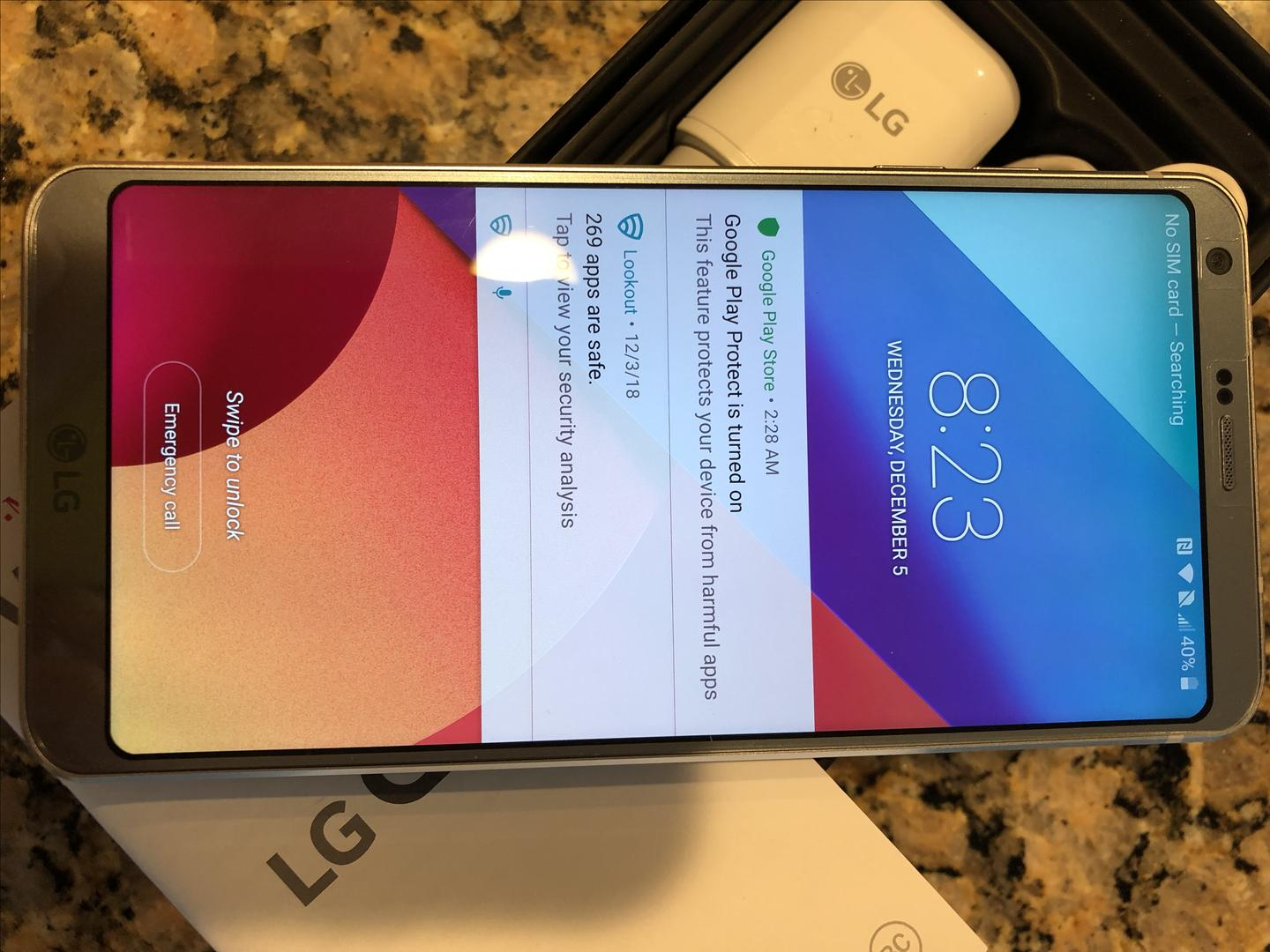 LG G6 (T-Mobile) [H872] - Silver, 32 GB, 4 GB