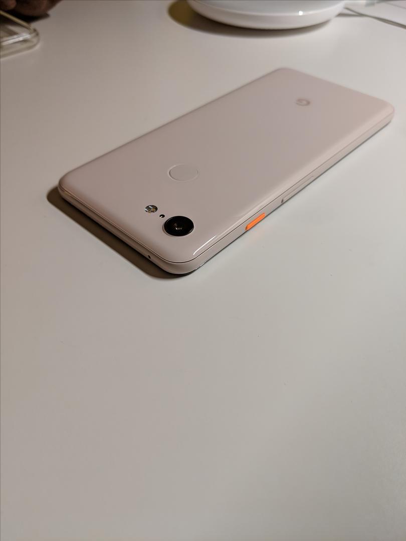Google Pixel 3 (Unlocked), Google Edition - Pink, 64 GB