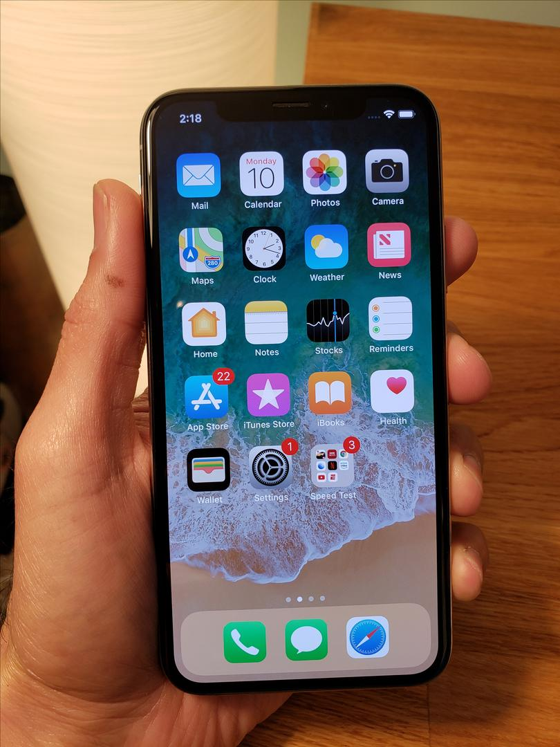 Apple iPhone X (T-Mobile) [A1901] - Silver, 256 GB