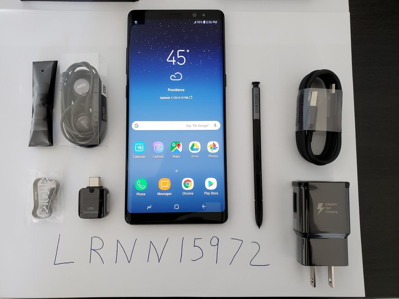 Samsung Galaxy Note 8 (T-Mobile) [SM-N950U] - Black, 64 GB
