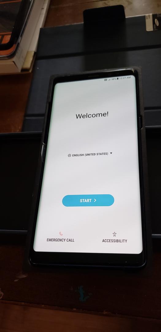 sm-n950n Samsung - 256 Galaxy Gb unlocked Note Blue 8 Non-us