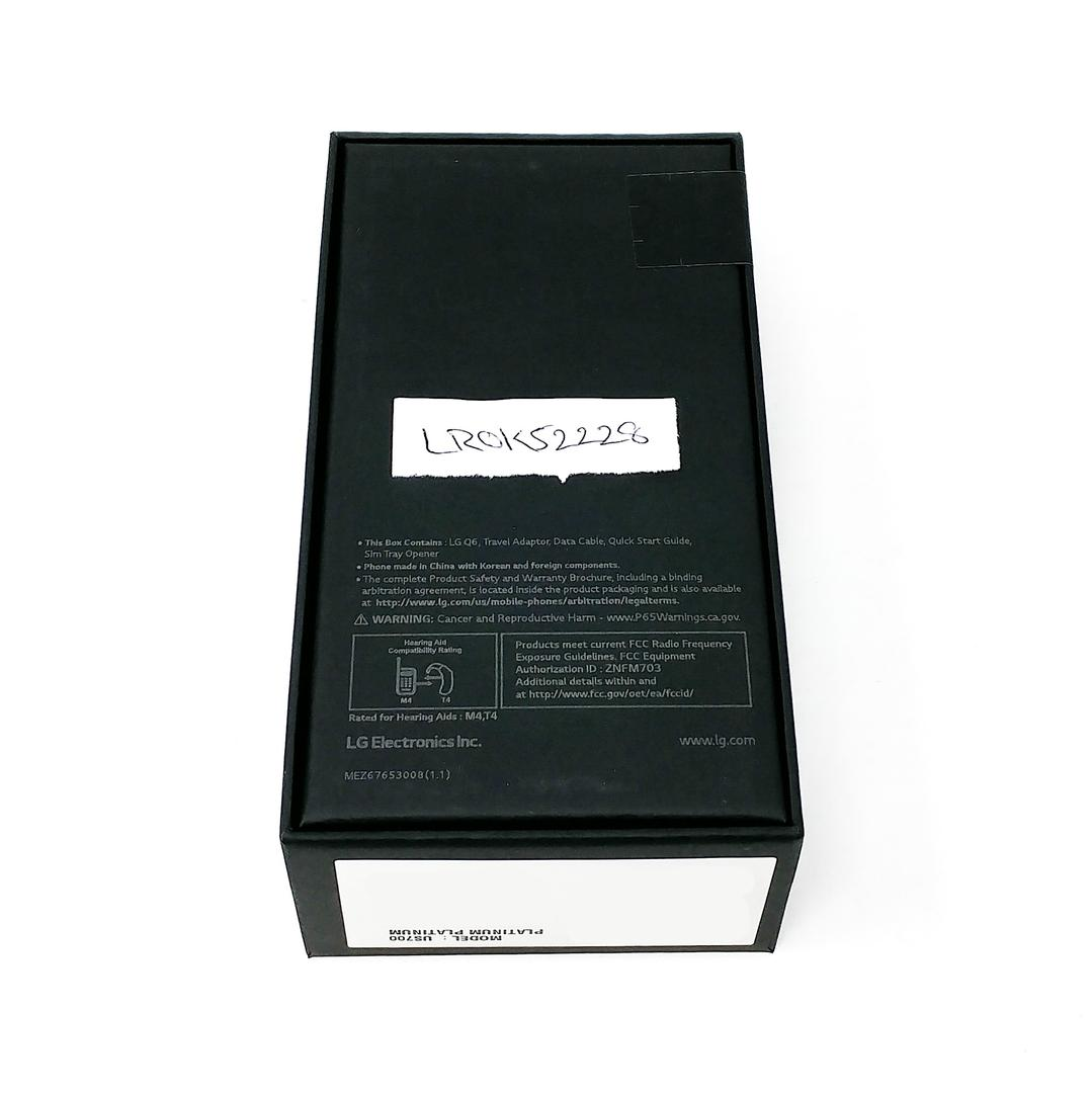 LG Q6 (Unlocked) [US700] - Silver