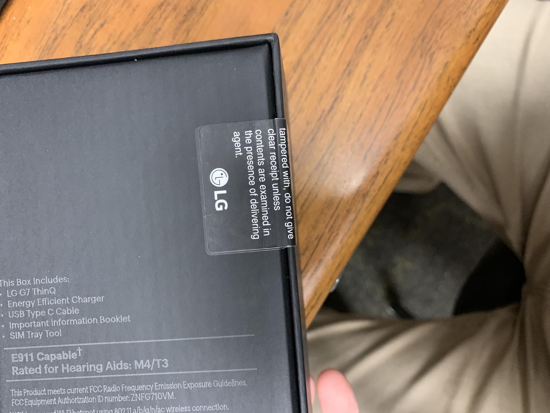 LG G7 ThinQ (Sprint) [LG-G710PM] - Blue, 64 GB