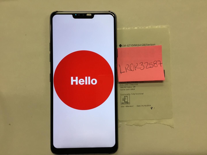 LG G7 ThinQ (Verizon) [LM-G710VM] - Gray, 64 GB