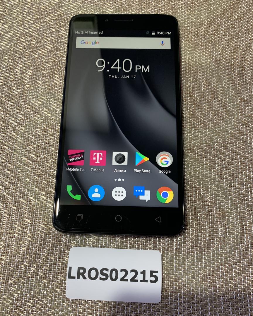 T-Mobile Revvl Plus (T-Mobile) - Black