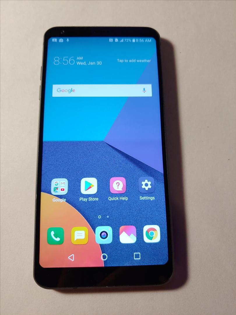 LG G6 (Unlocked) [H873] - Black, 32 GB, 4 GB