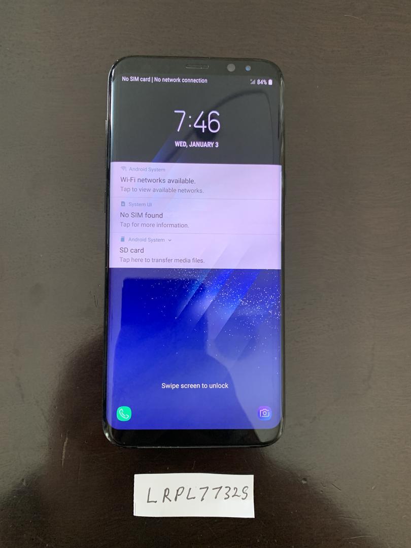 Samsung Galaxy S8 Plus (Verizon) [SM-G955U] - Black, 64 GB
