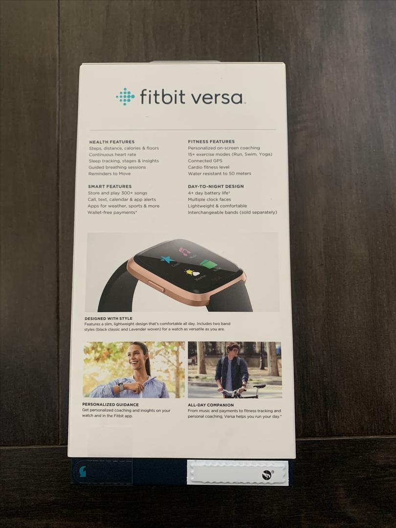 Fitbit Versa Special Edition - Rose Gold