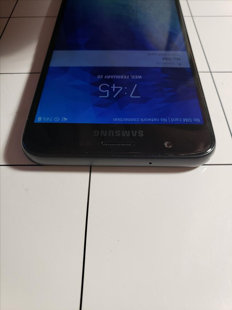 Samsung Galaxy J7 Crown (Straight Talk) [SM-S767VL] - Black, 16 GB, 2 GB