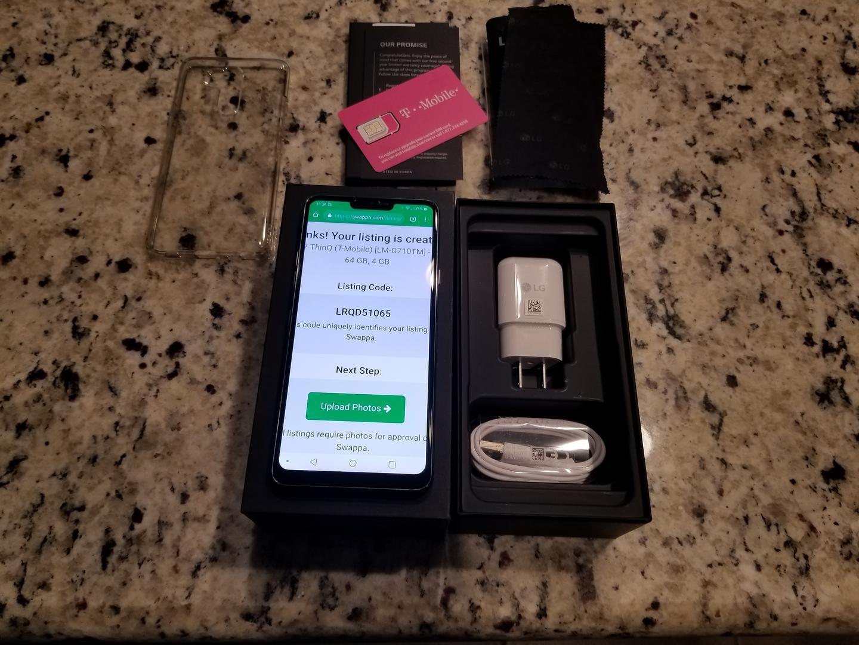 LG G7 ThinQ (T-Mobile) [LM-G710TM] - Gray, 64 GB, 4 GB