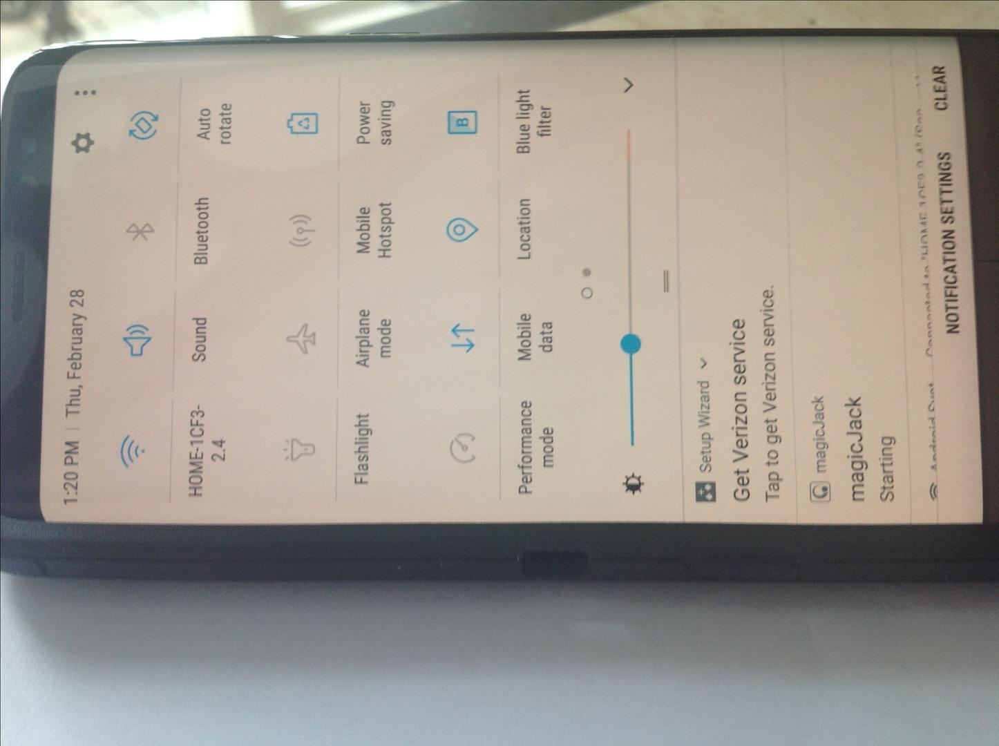 Samsung Galaxy S8 (Verizon) [SM-G950U] - Black, 64 GB