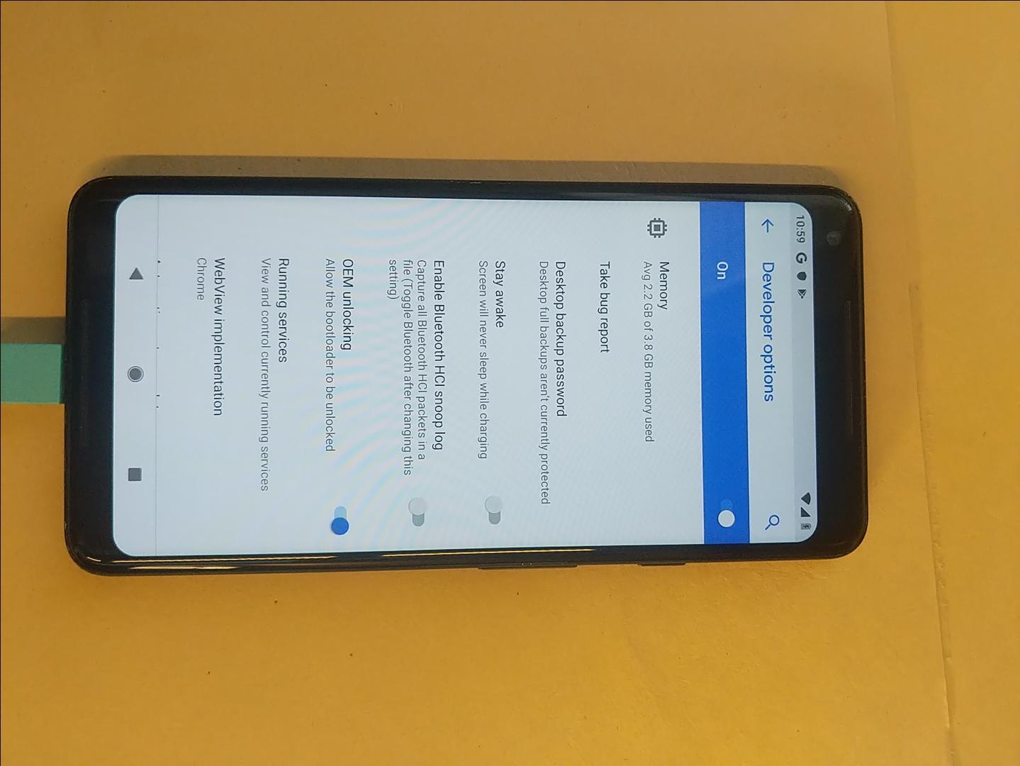 Google Pixel 2 XL (Unlocked), Google Edition - Black, 128 GB