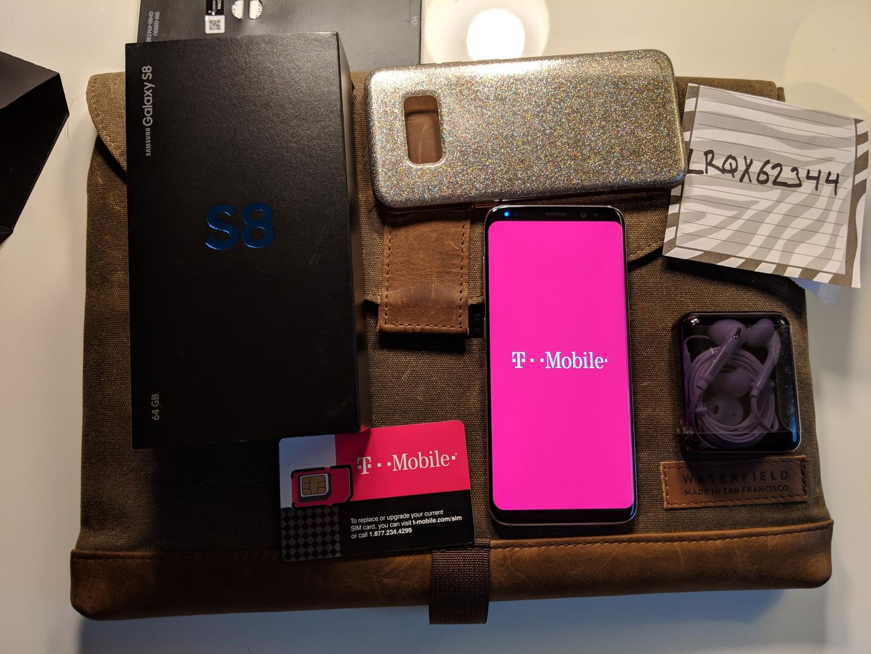 Buy Samsung Galaxy S8 T Mobile Sm G950u Gray 64 Gb 4 Gb