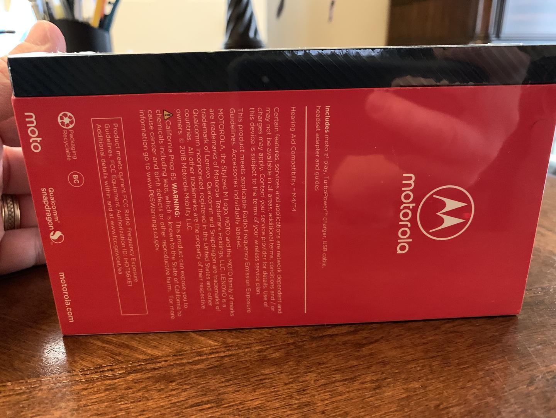 Moto Z3 Play (Sprint) - Blue, 32 GB, 4 GB
