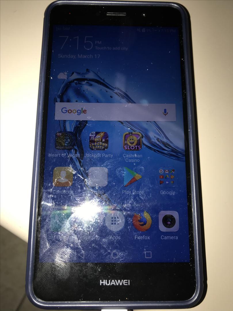 Huawei Ascend XT2 (AT&T) [H1711], Prepaid - Silver