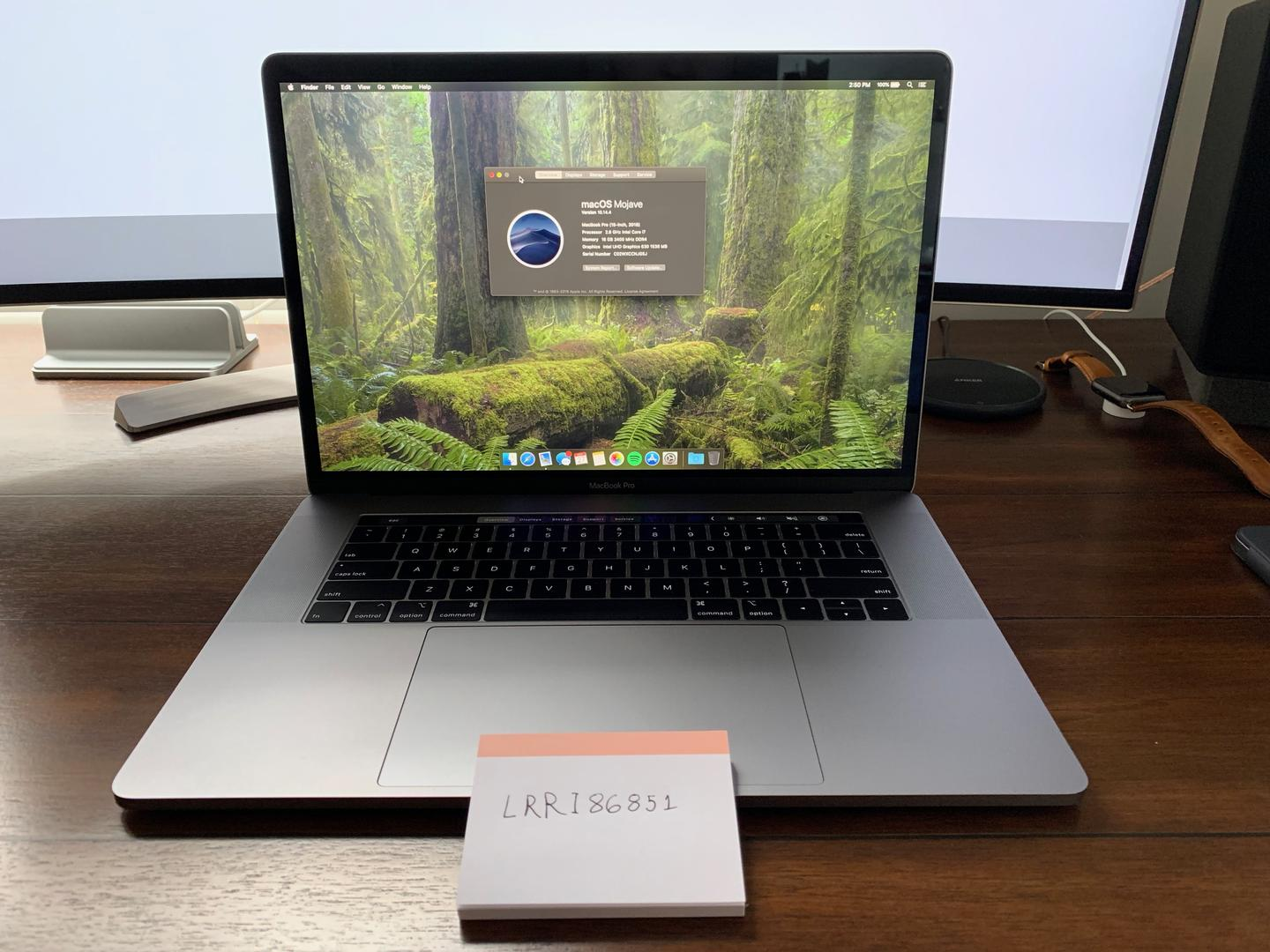 """MacBook Pro 2018 (With Touch Bar) - 15"""" - I7, Gray, 512 GB ..."""