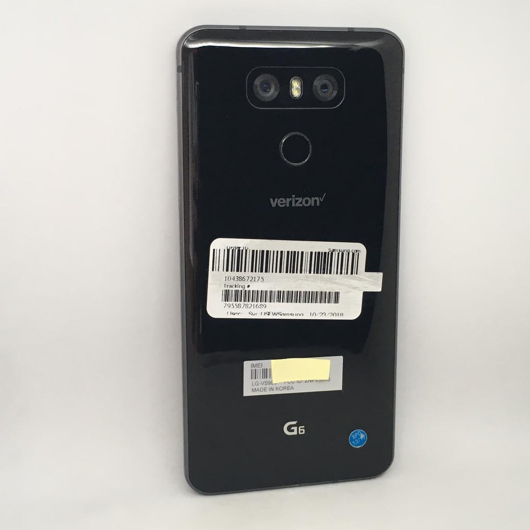 LG G6 (Verizon) [VS988] - Black, 32 GB, 4 GB