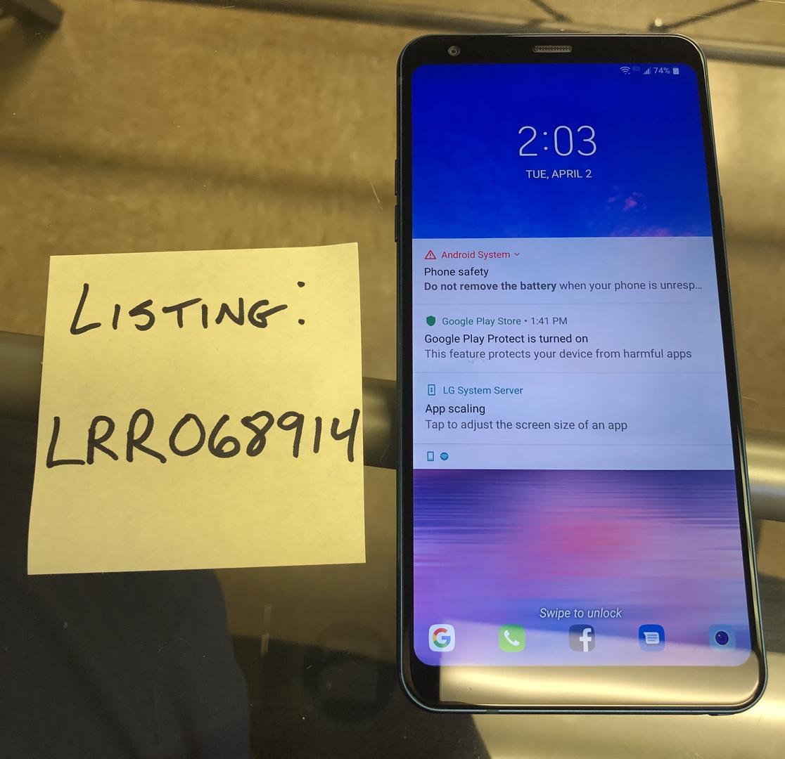 LG Stylo 4 (Straight Talk) [L713DL] - Blue, 16 GB, 2 GB