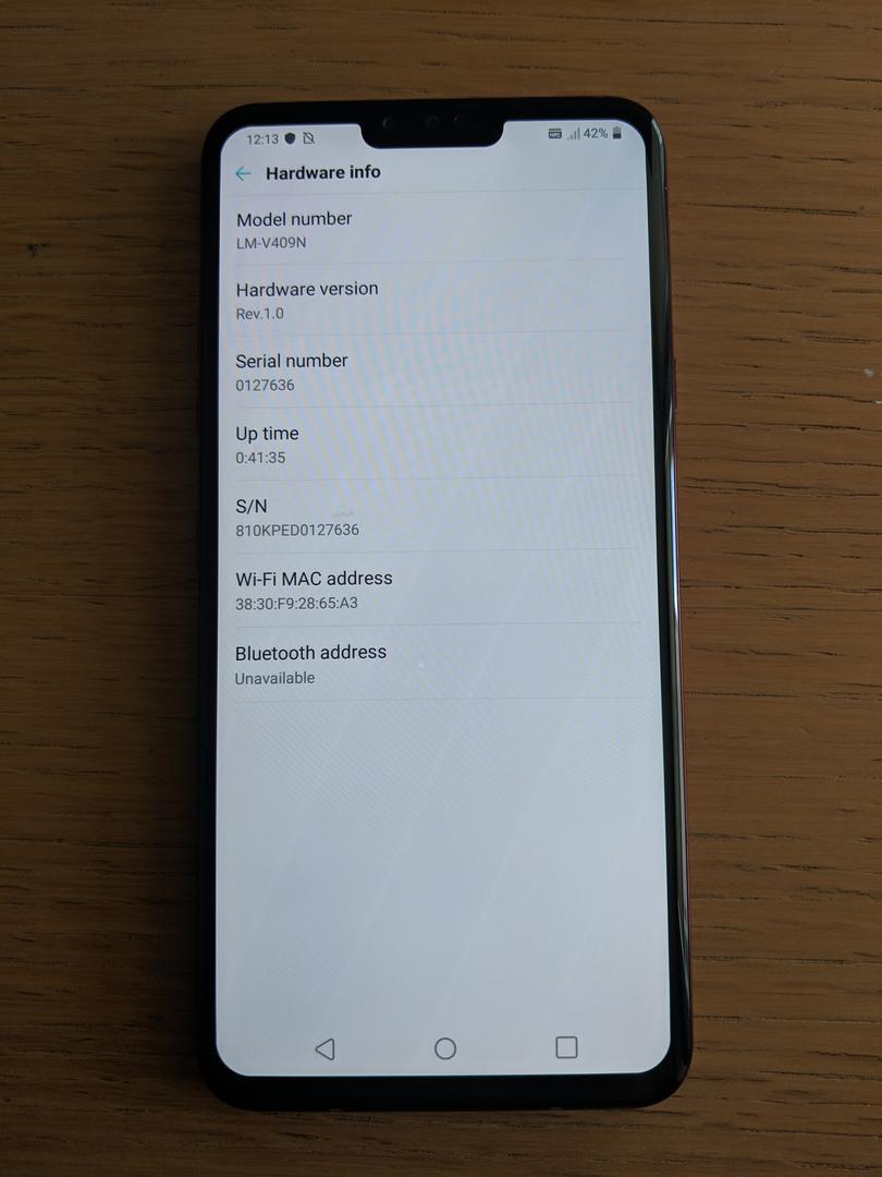 LG V40 ThinQ (Unlocked) [LM-V409N] - Red