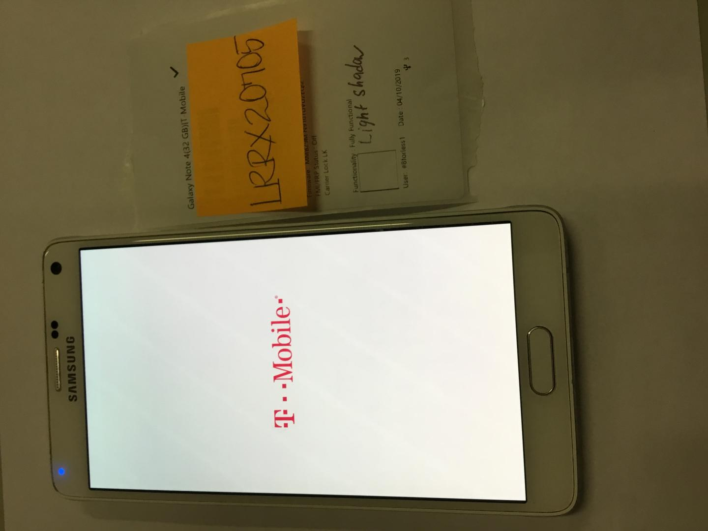 Samsung Galaxy Note 4 (T-Mobile) [N910T] - White, 32 GB