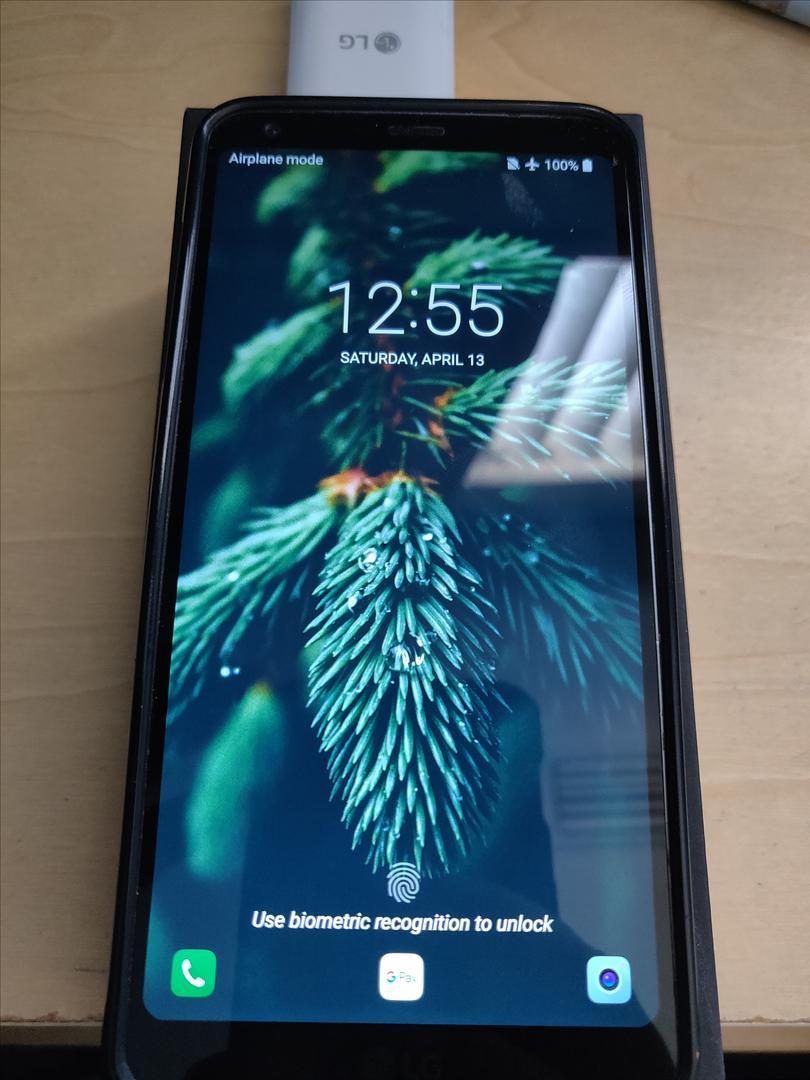 LG G6 (T-Mobile) [H872] - Black, 32 GB, 4 GB