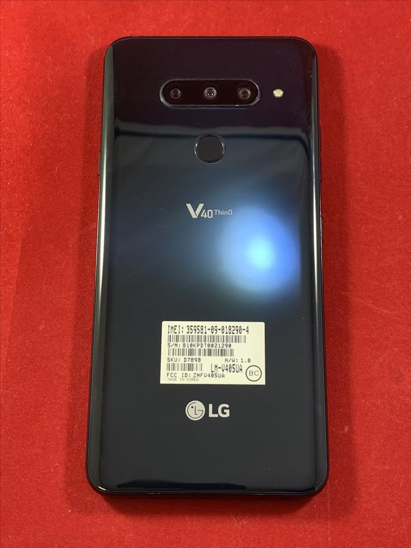 LG V40 ThinQ (Unlocked) [LM-V405QA7] - Black