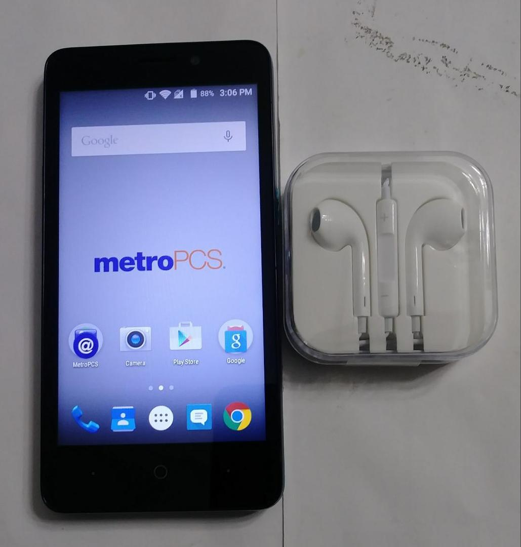 ZTE Avid Plus (Metro PCS) - Black, 8 GB