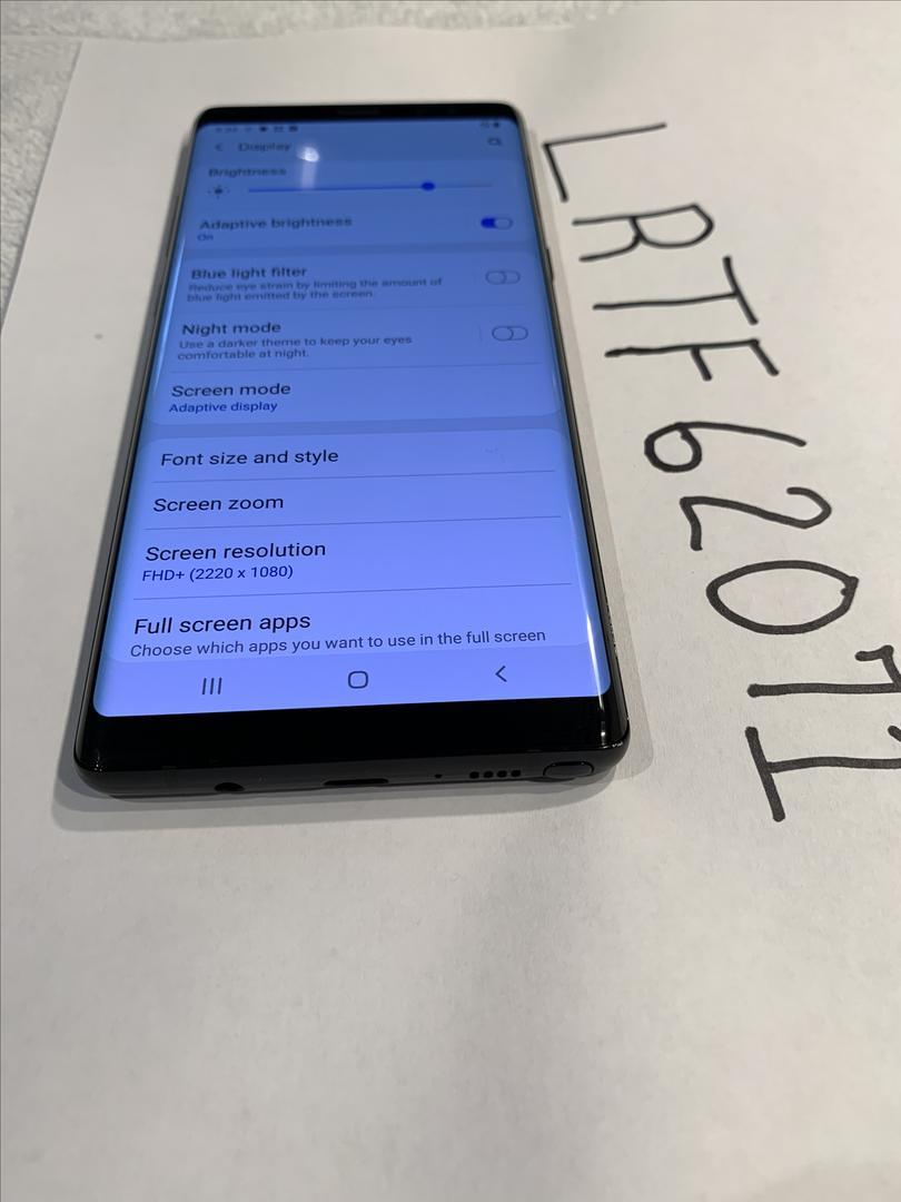 Samsung Galaxy Note 8 (AT&T) [SM-N950U] - Black, 64 GB