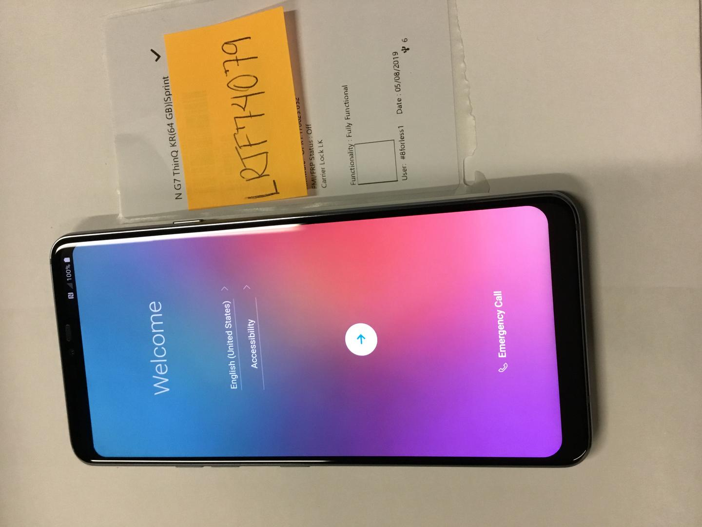 LG G7 ThinQ (Sprint) [LG-G710PM] - Gray, 64 GB