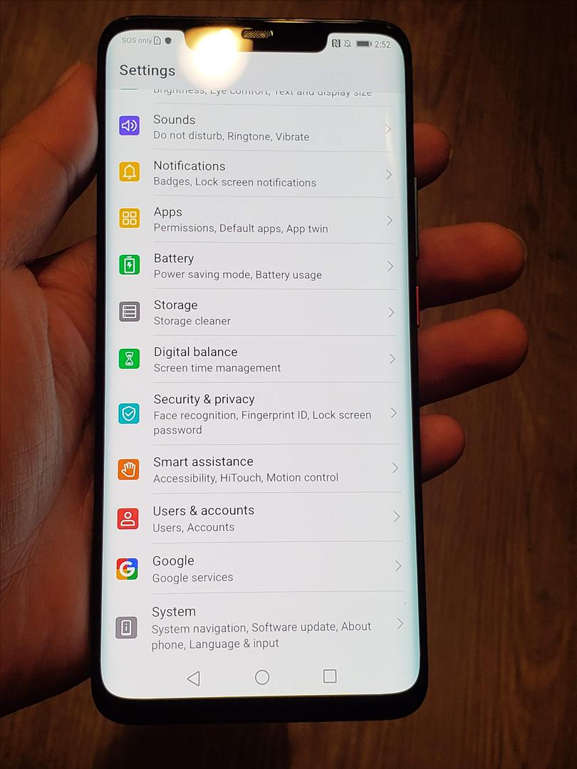 Huawei Mate 20 Pro (Unlocked) - Green, 128 GB, 6 GB