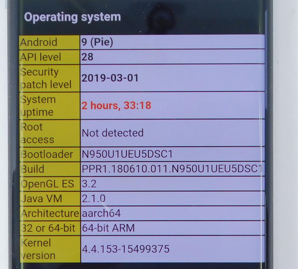 Samsung Galaxy Note 8 (Verizon) [SM-N950U] - Gray, 64 GB