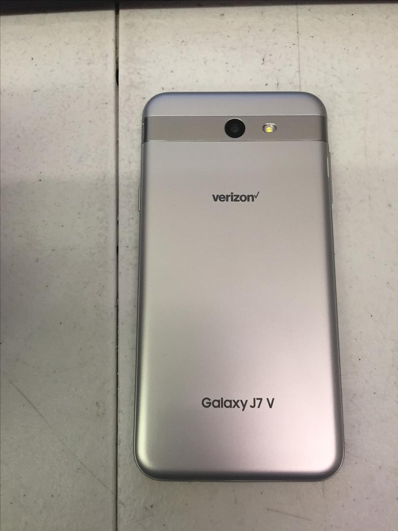 Samsung Galaxy J7 V (Verizon) - Silver, 16 GB, 2 GB