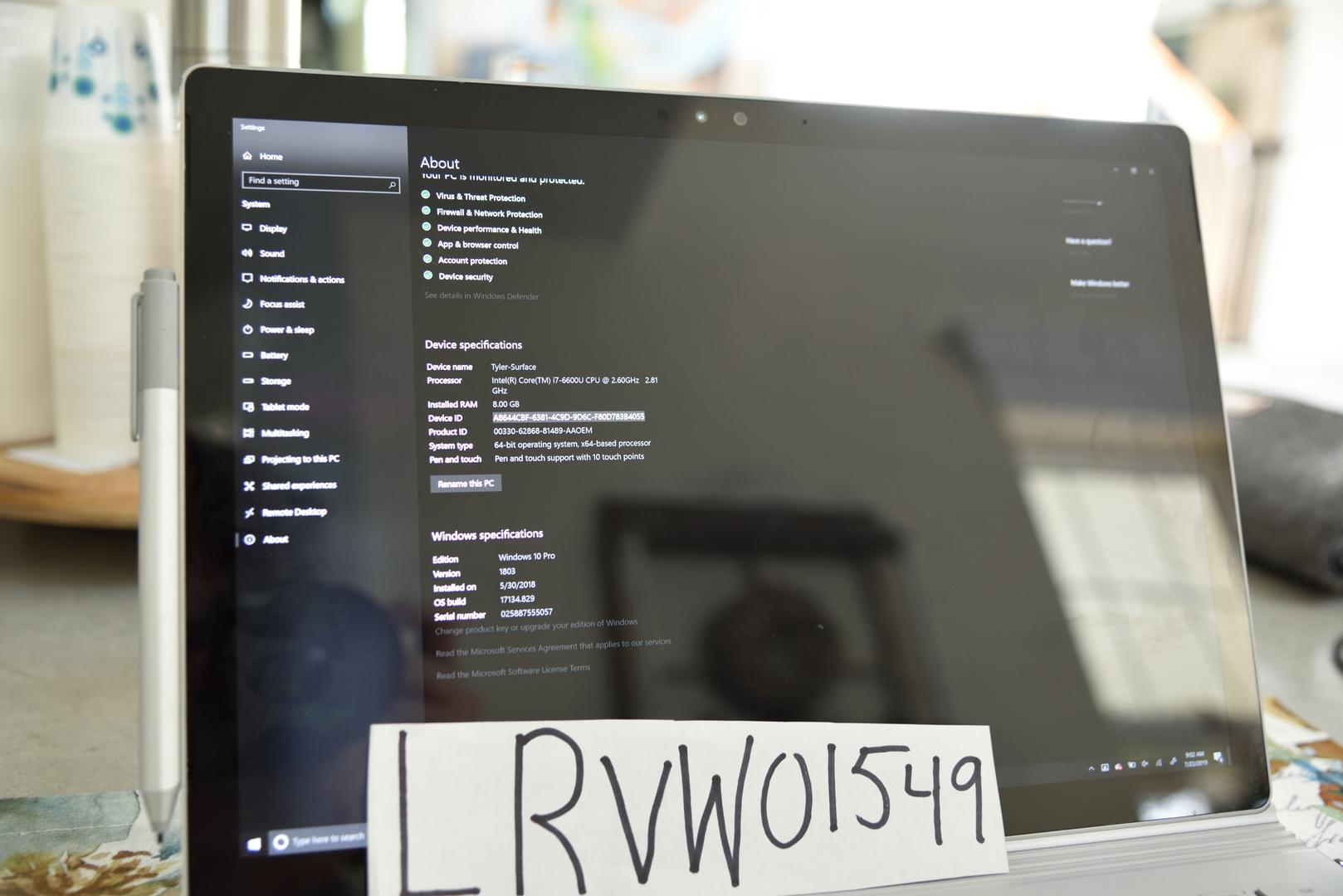 Microsoft Surface Book - Silver, 256 GB, 8 GB
