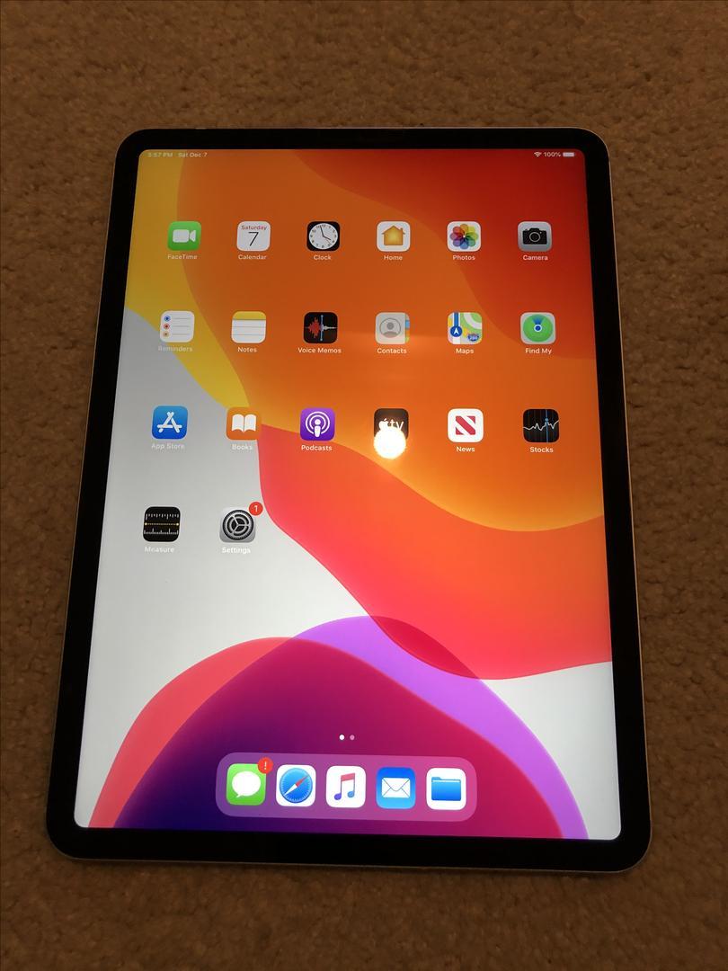 "Apple iPad Pro 11"" 2018 (Unlocked) A2013 - Silver, 64 GB ..."