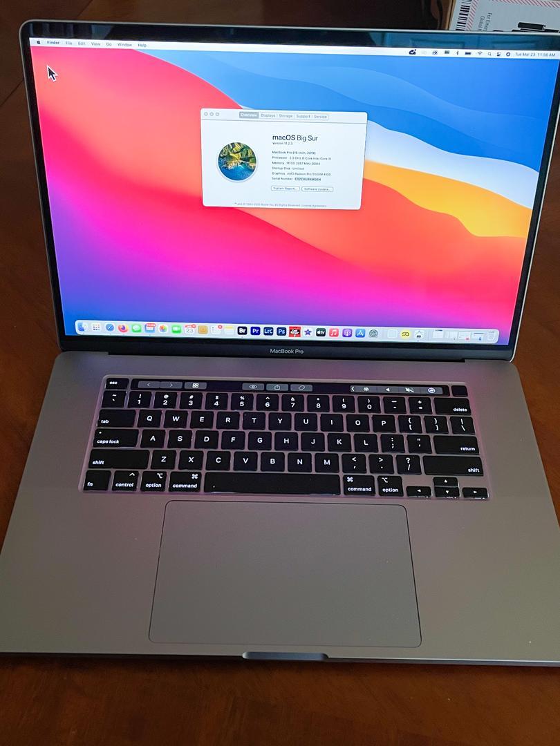 "MacBook Pro 2019 - 16"" - I9, Gray, 1 TB, 16 GB in Chicago ..."