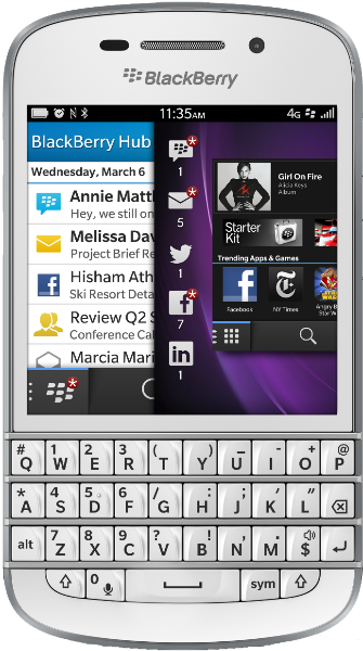 Sell Blackberry Q10 - Swappa