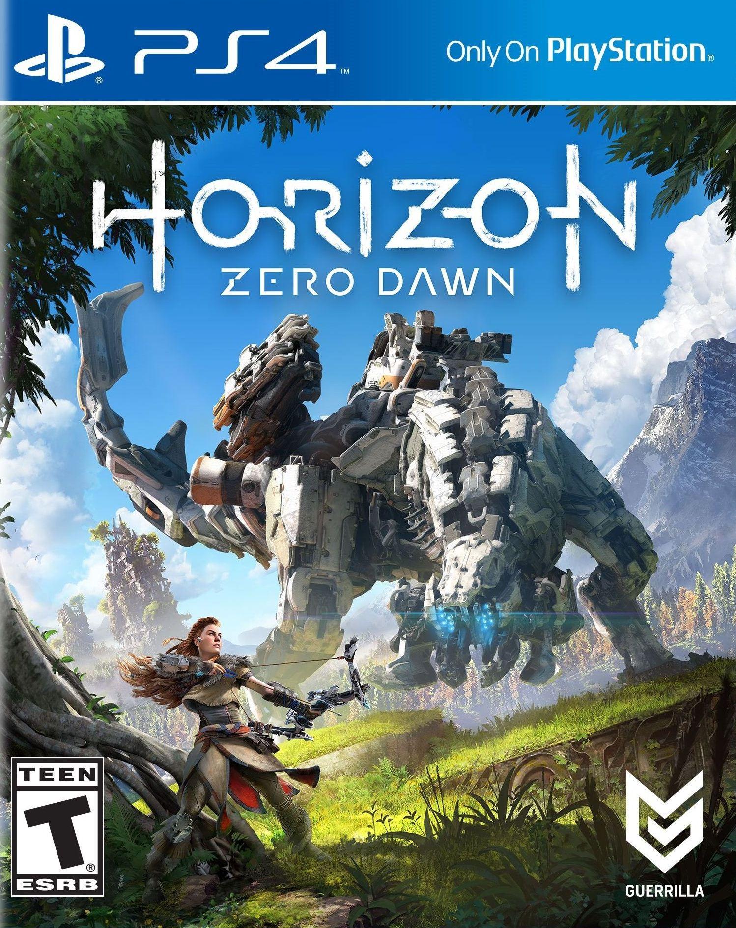 Used Horizon Zero Dawn Swappa Sony Playstation 4 Collector Edition