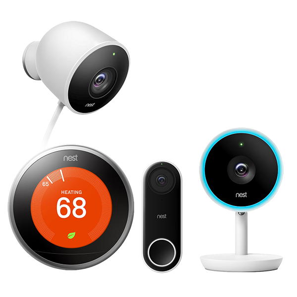 Google Nest smart home devices